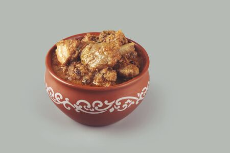 South Indian traditional country chicken curry