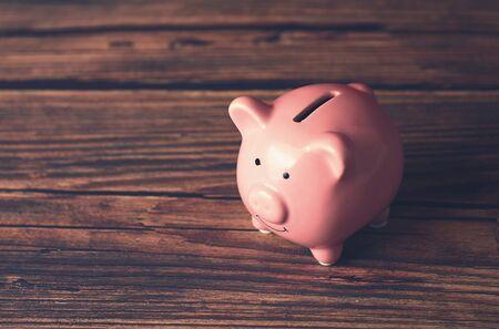 Piggy Bank - concept of money savings