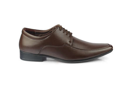 Men's formal leather Shoes isolated on white