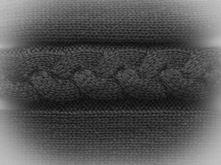 voluminous: patterned knitted voluminous textile background or texture Stock Photo