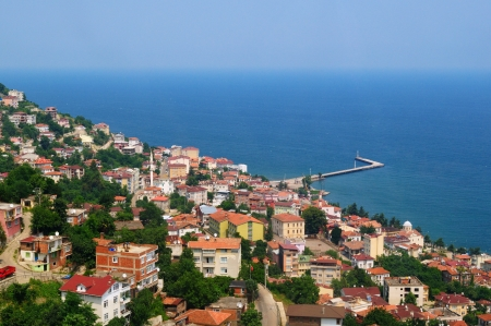 View from Ordu, Black Sea Region, Turkey Stock Photo - 17211776