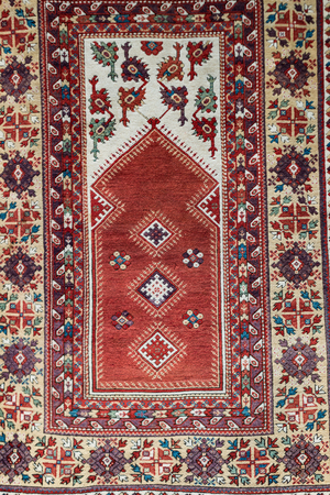 traditional hanging carpet.