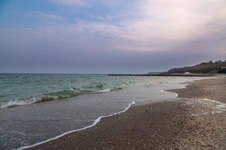 オデッサ、ウクライナの 14 のフォンタナ ビーチ