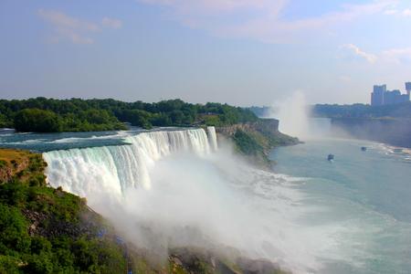Niagara falls from us side