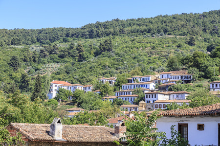 Sirince village in Izmir, Turkey Stock Photo