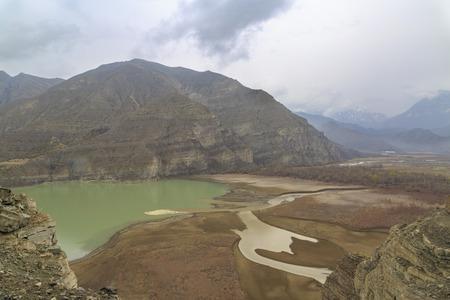 Tortum lake view in Uzundere, Erzurum, Turkey Stok Fotoğraf