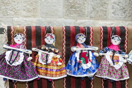 Handmade turkish dolls in traditional cloths