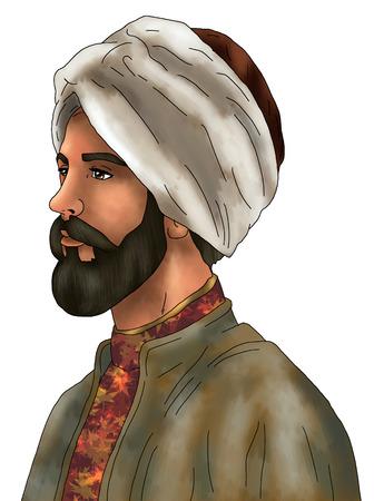 sultan Stock Photo
