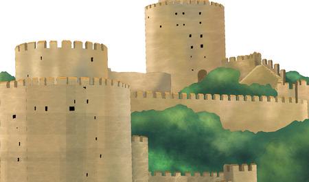 Ancient fortress 版權商用圖片