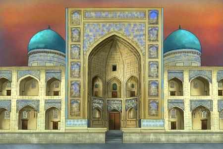 Samarkand in Uzbekistan