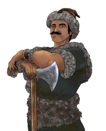 the Warrior 写真素材