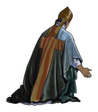 Die Religion Standard-Bild