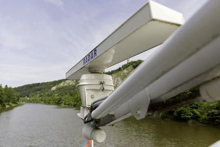 passenger ships: Radar installation on passenger ships