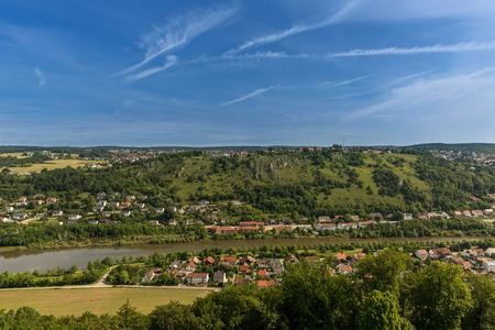 napoleon i: Limestone Hills at Kelheim Bavaria