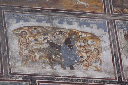 worshiped: church frescoes