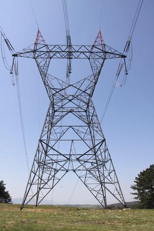 transmission line: power transmission line
