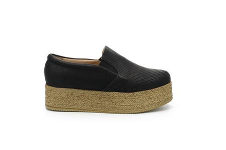 woman shoes footwear Stock Photo