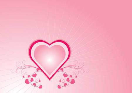 Love Background Vector