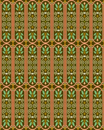 islamic pattern Stock Vector - 4062290
