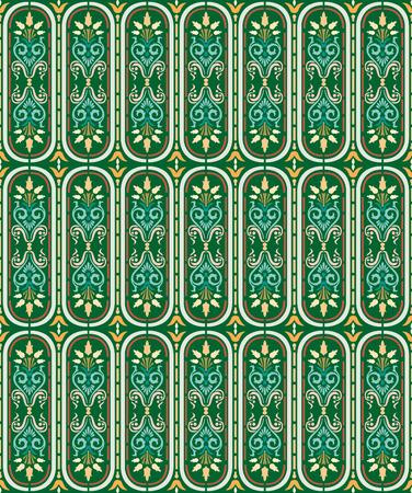floral vector: islamic pattern