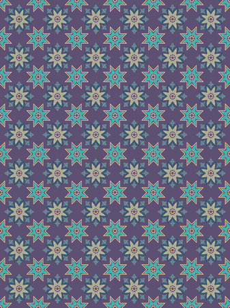 islamic pattern 4 Vector