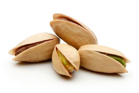 Pistachio nuts isolated on white background Reklamní fotografie