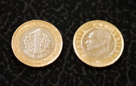 turkish lira: turkish one lira