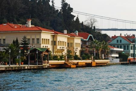 bosporus: residences along Bosporus, Istanbul