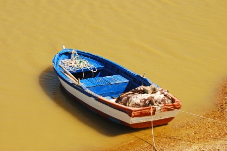 Small fishing boat photo