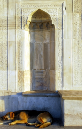 A fountain in Istanbul photo