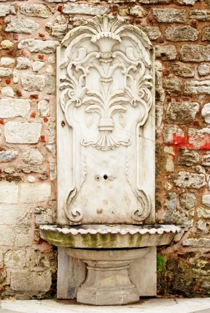 Old fountain, istanbul Stock Photo - 18959261
