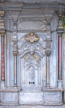 Old fountain, istanbul photo