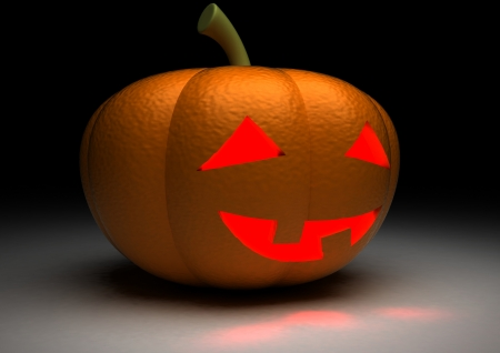 Halloween Pumpkin 3D  photo