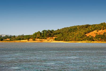 tuzla: View on lake - Erikli Tuzla Lake, Turkey
