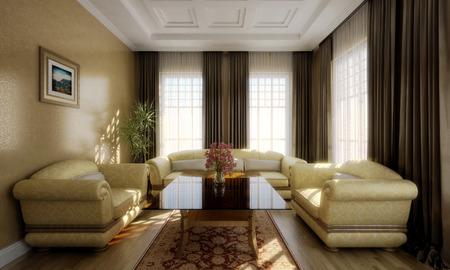 3D Room render
