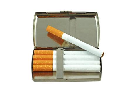 cigarette case: Cigarette case Stock Photo