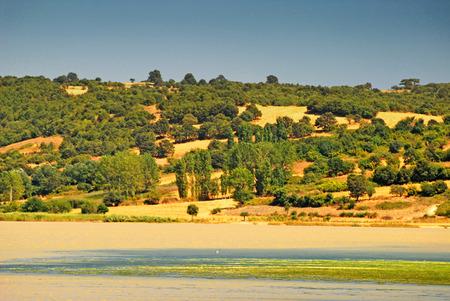 tuzla: Erikli Tuzla Lake, Turkey