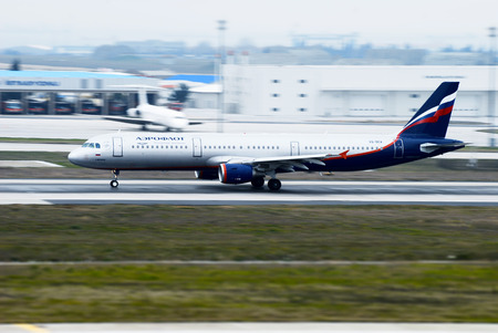 VQ-BEA Aeroflot - Russian Airlines Airbus A321-211 in Istanbul Turkey