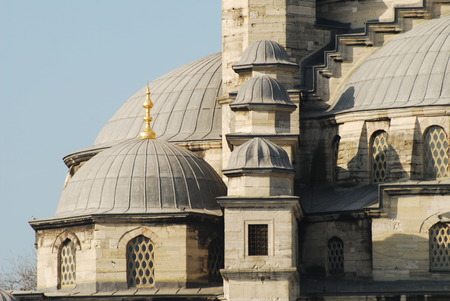 New mosque in istanbul,Turkey 写真素材