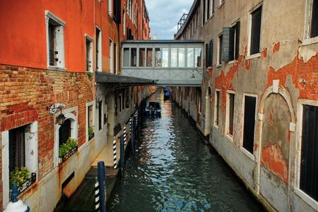 Canal in the Venice, Italy Banco de Imagens
