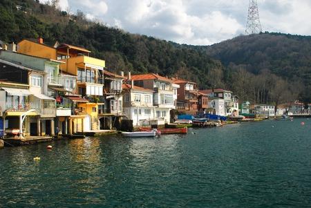 Anadolu Kavagi village waterfront in Turkey