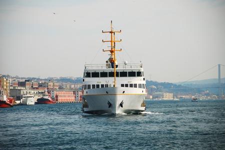 Passenger Ferry Bosporus in Istanbul Turkey