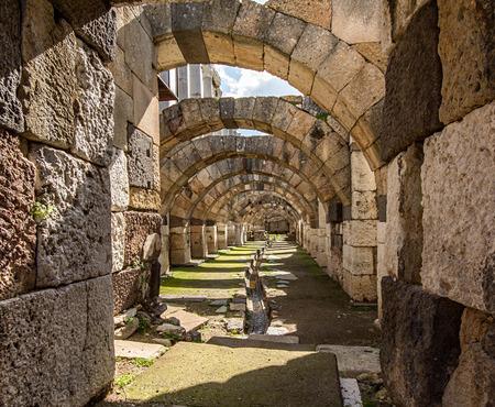 novel: Agora ancient city, Izmir, smyrna