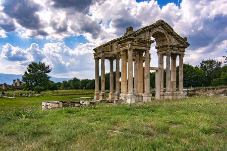 동상, afrodisias, 고대 도시
