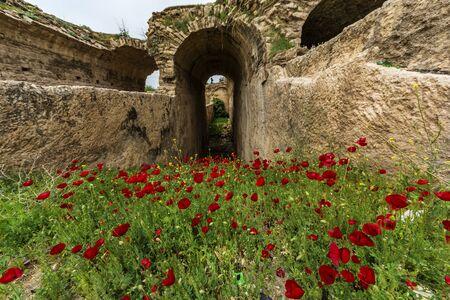 Dara Ruins,Mardin Stock Photo