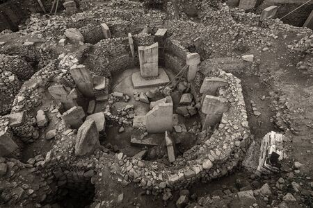 Göbeklitepe is an archaeological excavation site which is located near Şanlıurfa 12,000 years ago and is the first temple of the world.