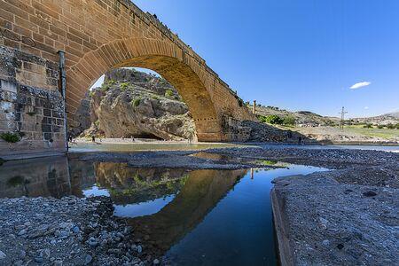Also known as Cendere Bridge, Roman Bridge or Septimius Severus Bridge.