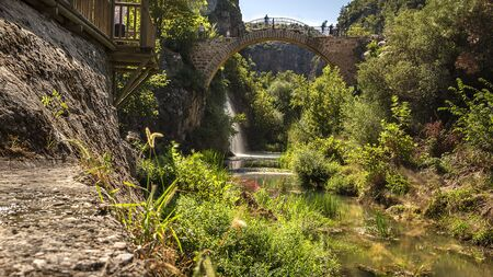clandras The bridge was built on the Banaz Stream approximately 2500 years ago