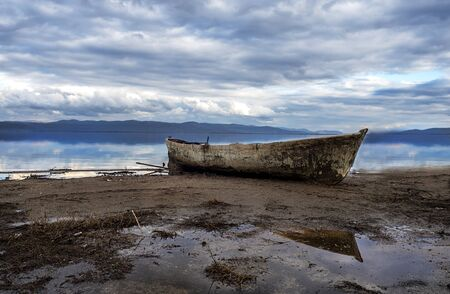In Golmarmara, the waters are still wet, the boats are on land