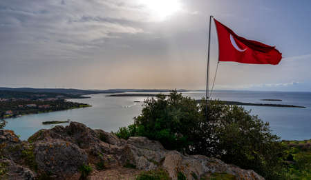 Ildiri, a windy fishing village on the Çeşme Peninsula, is a holiday resort where history meets natural beauties.
